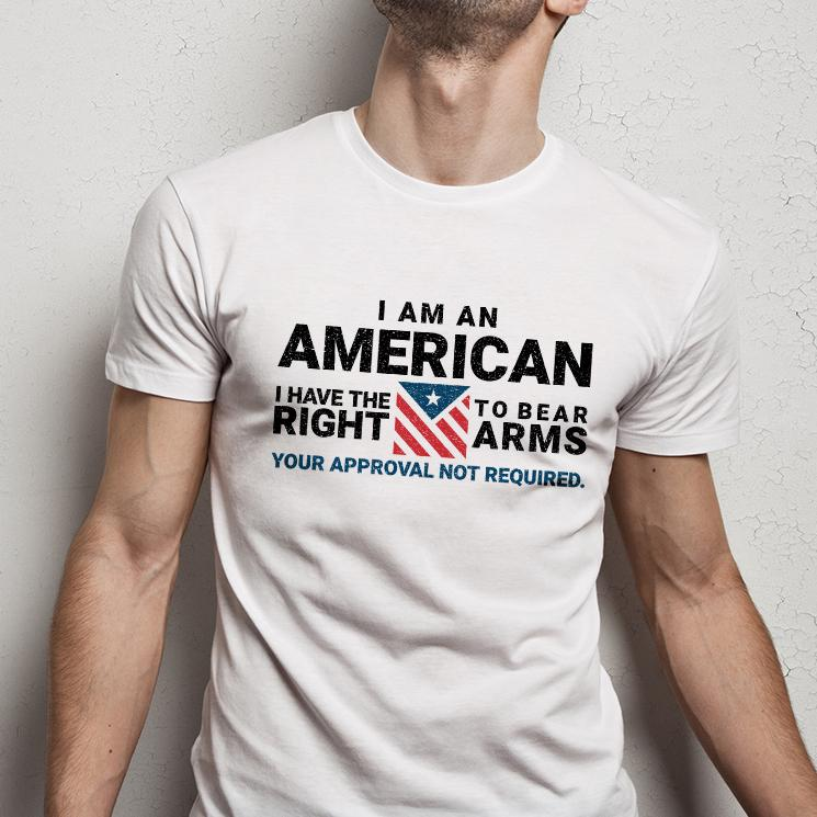 Your Approval Not Required T-shirt (MADE IN THE USA)