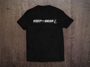 Keep And Bear Logo T-Shirt (MADE IN THE USA)
