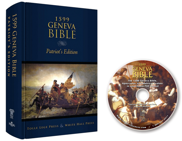 BUY ONE GET ONE FREE: 1599 Geneva Bible (Patriot's Edition) + FREE Geneva Bible CD-ROM