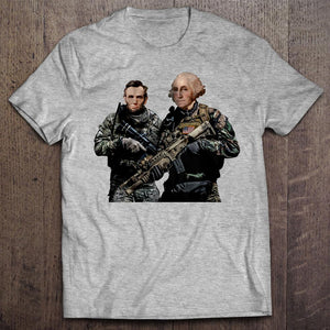 Lincoln and Washington Special Forces T-Shirt (MADE IN THE USA)