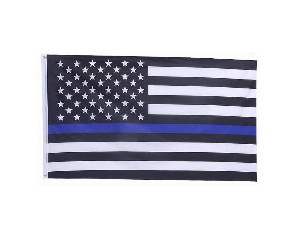 Thin Blue Line USA Flag (3x5)