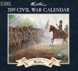 2019 Civil War Paintings Calendar
