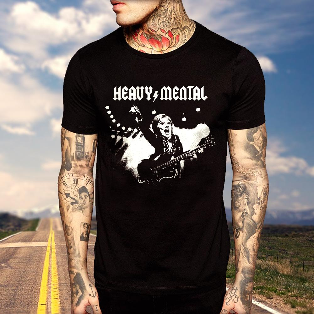 Heavy Mental T-Shirt (MADE IN THE USA)