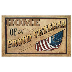 Proud Veteran Floor Mat