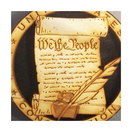 USA Constitution Ornament (Collector's Item)