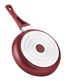 "Saflon Titanium Nonstick 3 Piece Fry Pan Set (8"", 9.5"", 11"") Red"