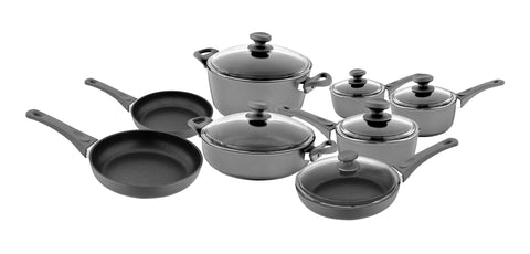 Titanium Nonstick 14-Piece Cookware Set