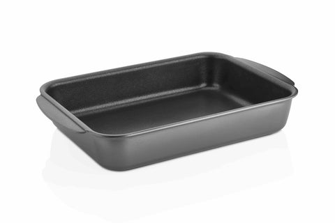 "Titanium Nonstick 13.5"" x 10"" Roasting Pan (Gray)"