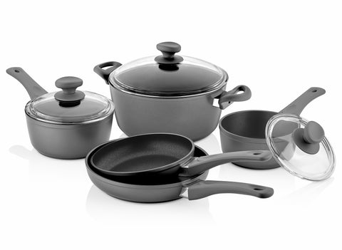 Titanium Nonstick 8-Piece Cookware Set