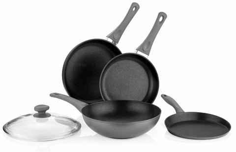 Titanium Nonstick 5-Piece Pan Set