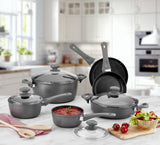Titanium Nonstick 10-Piece Cookware Set