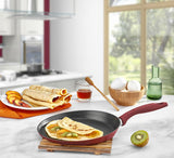 Titanium 9.5-Inch Crepe Pan (Red)