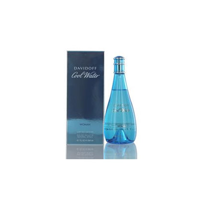 COOLWATER WOMEN DAVIDOFF EDT SPRAY 6.7 OZ FOR WOMEN
