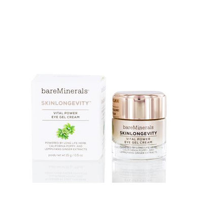 BAREMINERALS SKINLONGEVITY EYE GEL CREAM 0.5 OZ (15 ML)