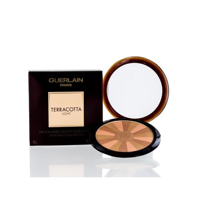 GUERLAIN TERRACOTTA LIGHT BRONZER COMPACT POWDER  (03) NATURAL WARM 0.35 OZ