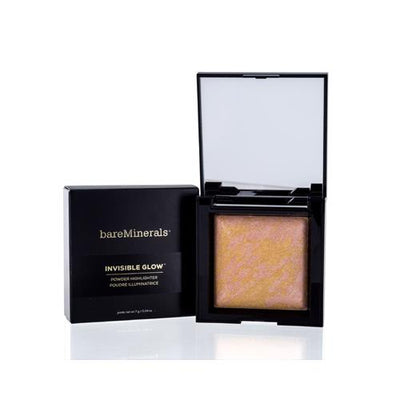 BAREMINERALS INVISIBLE GLOW MEDIUM BRONZER POWDER 0.24 OZ (7 ML)