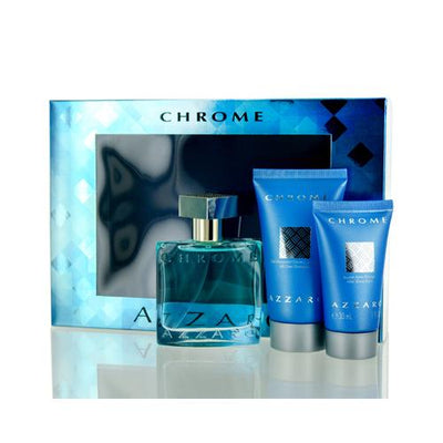 CHROME AZZARO SET FOR MAN