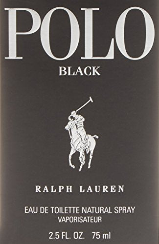 POLO BLACK RALPH LAUREN EDT SPRAY 2.5 OZ FOR MAN