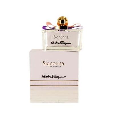 SIGNORINA S. FERRAGAMO EDT SPRAY 3.4 OZ (100 ML) FOR WOMEN
