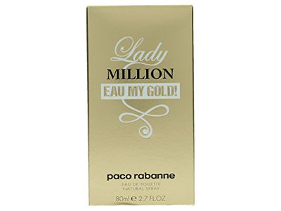 LADY MILLION EAU MY GOLD/PACO RABANNE EDT SPRAY 2.7 OZ (80 ML) (W)
