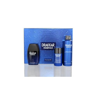 DRAKKAR ESSENCE GUY LAROCHE SET VALUE $107  FOR MAN