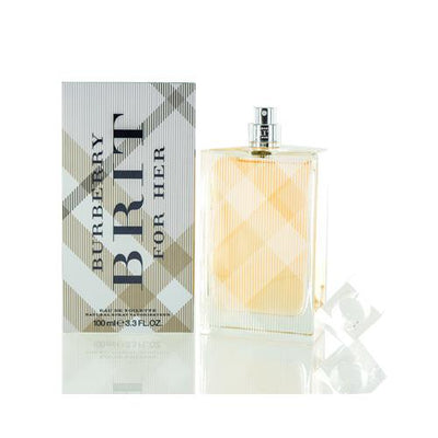 BURBERRY BRIT BURBERRY EDT SPRAY NEW PACKAGING  3.3 OZ (100 ML) FOR WOMEN