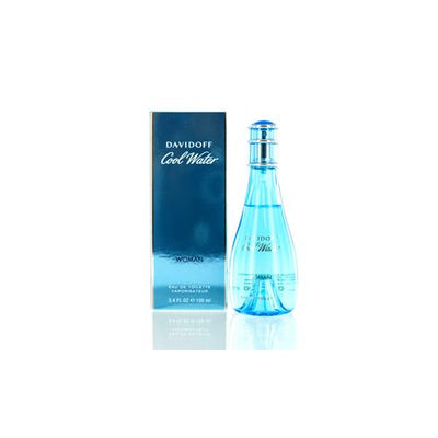 COOLWATER WOMEN DAVIDOFF EDT SPRAY 3.3 OZ FOR WOMEN