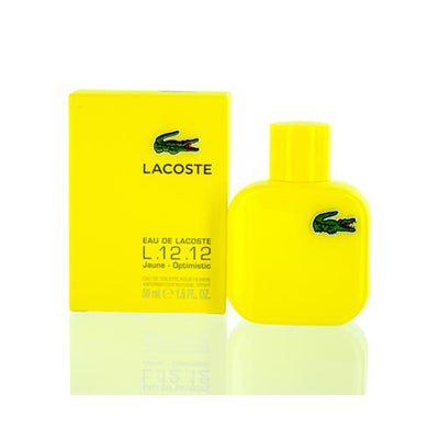 LACOSTE L.12.12 JAUNE LACOSTE EDT SPRAY (YELLOW) 1.6 OZ (50 ML) FOR MAN