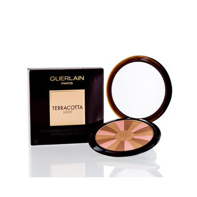 GUERLAIN TERRACOTTA LIGHT BRONZER COMPACT POWDER (02) NATURAL COOL 0.35 OZ