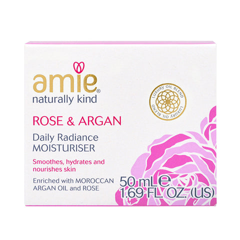 Amie Rose & Argan Daily Radiance Moisturiser 50ml