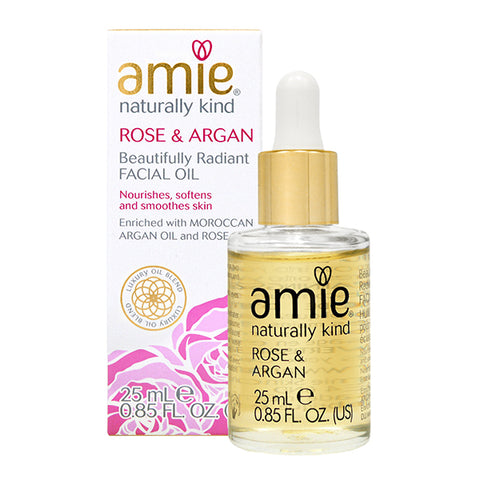 Amie Rose & Argan Beautifully Radiant Facial Oil 25ml