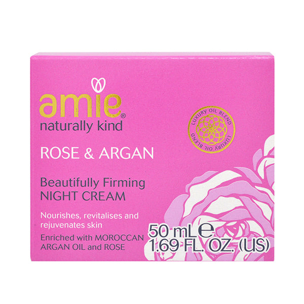 Amie Rose & Argan Beautifully Firming Night Cream 50ml