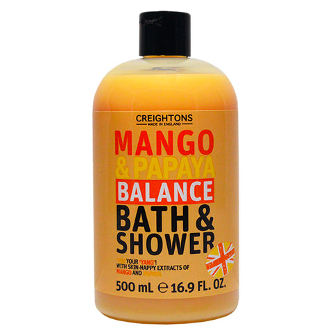 Mango & Papaya Balance Bath & Shower 500ml