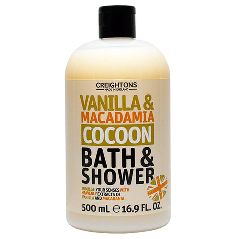 Creightons Vanilla & Macadamia Cocoon Bath & Shower 500ml