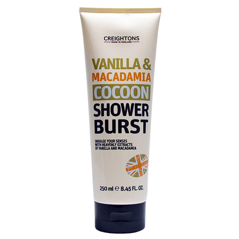 Vanilla & Macadamia Cocoon Shower Burst 250ml