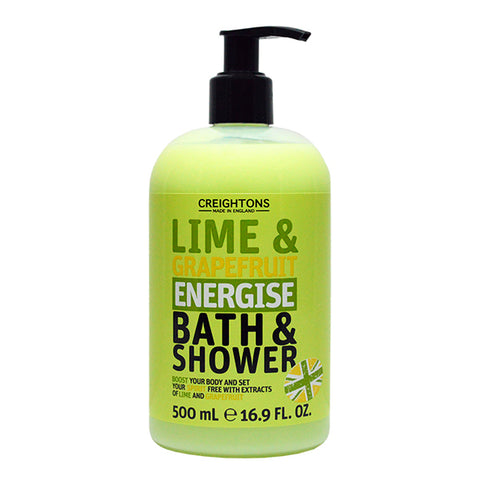 Lime & Grapefruit Energise Bath & Shower 500ml