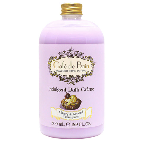 Cafe de Bain Cherry & Almond Frangipane Indulgent Bath Crème 500ml