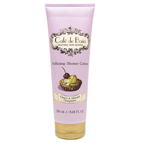 Cafe de Bain Cherry & Almond Frangipane Softening Shower Crème 250ml