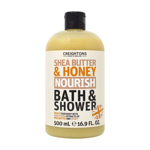 Creightons Shea Butter & Honey Nourish Bath & Shower 500ml