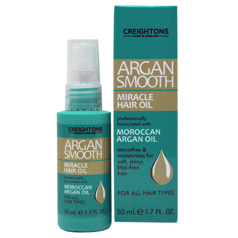 Creightons Argan Smooth Miracle Hair Oil 50ml