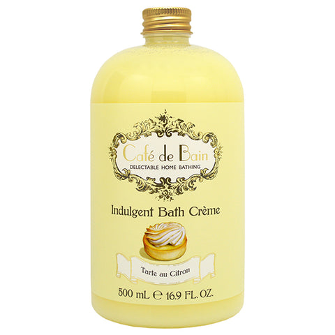 Cafe de Bain Tarte au Citron Indulgent Bath Crème 500ml