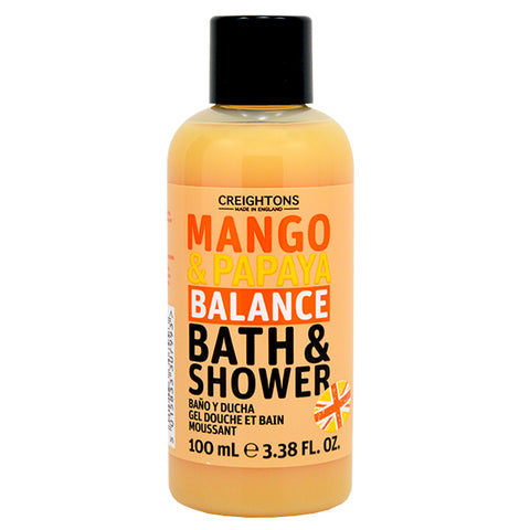 Creightons Mango & Papaya Balance Bath & Shower Travel Size 100ml