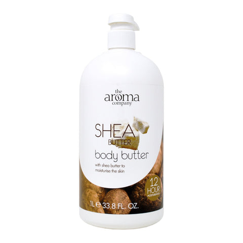 The Aroma Company Shea Butter Body Butter 1L