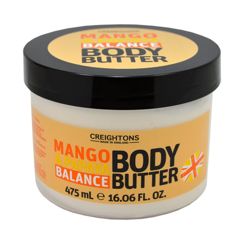 Creightons Mango & Papaya Balance Body Butter 475ml