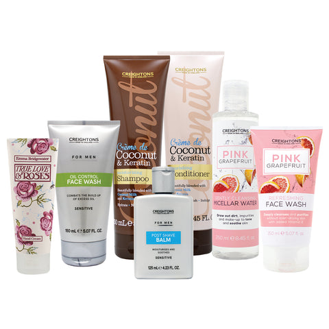 Creightons His & Hers Beauty Essentials Collection - Save over 10%