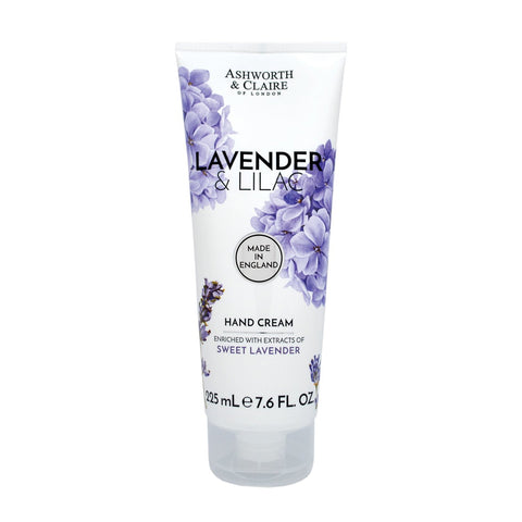 Ashworth & Claire Lavender & Lilac Hand Cream 225ml