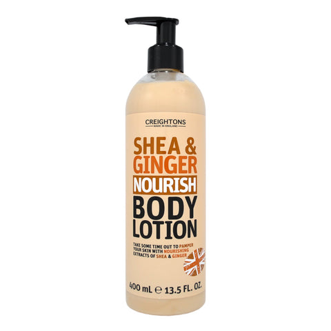 Creightons Shea & Ginger Nourish Body Lotion 400ml