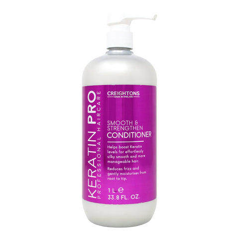 Creightons Keratin Pro Smooth & Strengthen Conditioner 1L