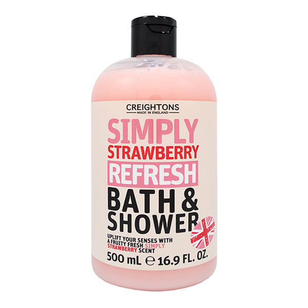 Simply Strawberry Refresh Bath & Shower 500ml