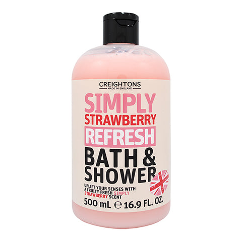 Creightons Simply Strawberry Refresh Bath & Shower 500ml